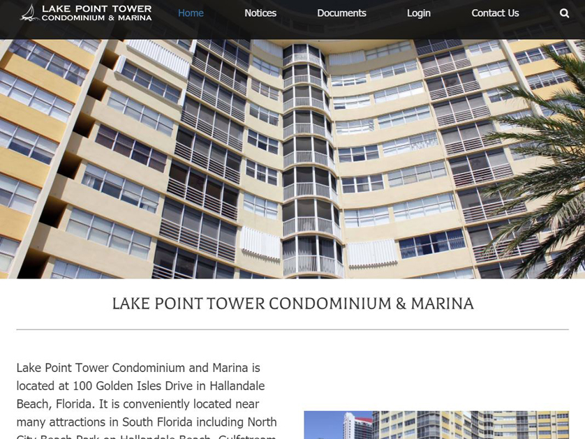 Lake Point Tower Condominium and Marina